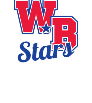 WB with cursive Stars