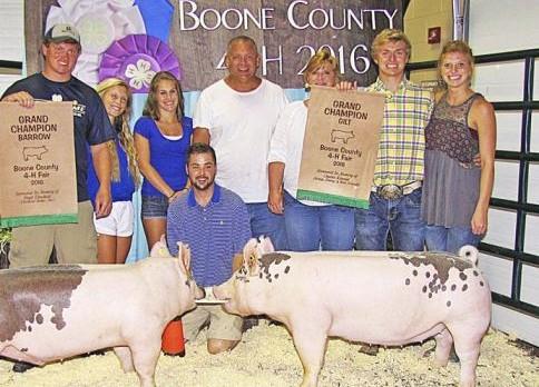 Solomon in historic swine show sweep