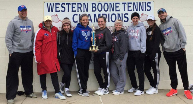 Tennis takes home title
