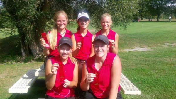 girls golf sectionals