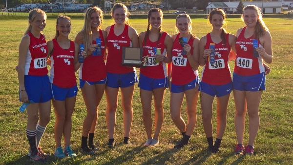 Lady Stars Repeat as Team Champions at Tiger XC Invite