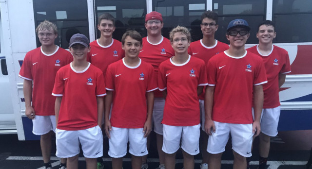 Boy's Tennis Clinch A Share At The Conference Title