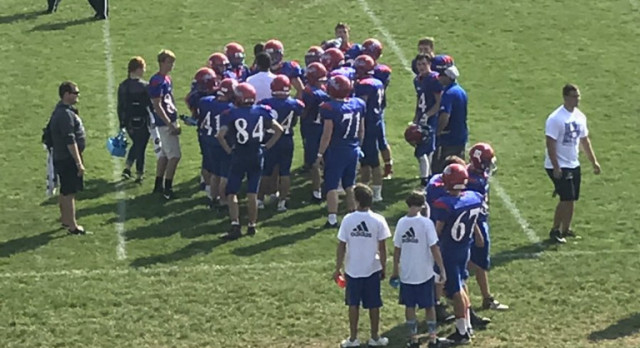 JV Football Routs North Montgomery