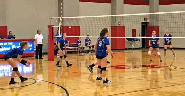 7th Grade Volleyball Remains Perfect