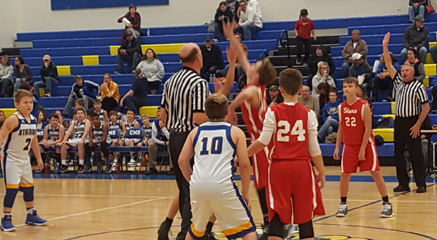 6th Grade Basketball Sweeps the Athenians
