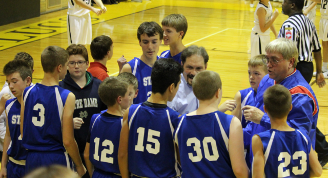 7th Grade Basketball Comes Up Short Against the Sparkplugs