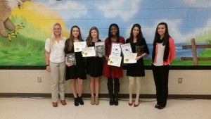 GIRLS TENNIS AWARD WINNERS