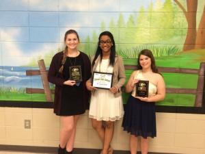 JV Basketball Cheer Award Winners