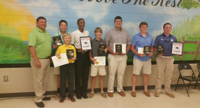 Boys Golf  Awards Night