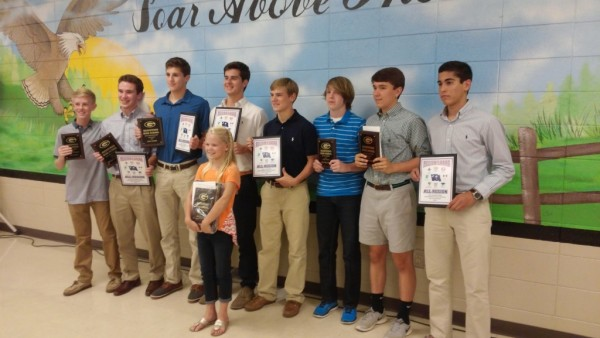 BOYS SOCCER AWARDS