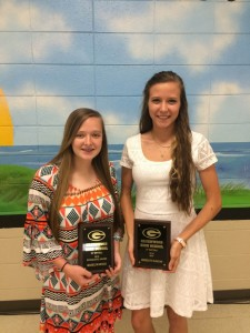 JV SOFTBALL AWARD WINNERS