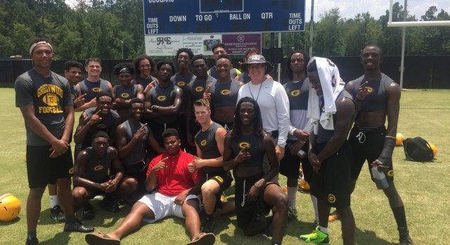 Greenwood Wins Colleton County 7 on 7