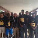 FOOTBALL VISITS PINECREST