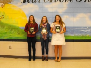 GIRLS GOLF AWARDS
