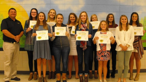 GIRLS GOLF AWARDS NIGHT