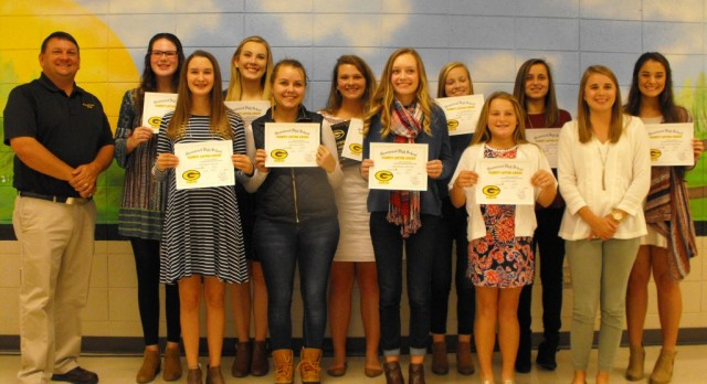 Girls Golf Awards Dinner Held November 7th