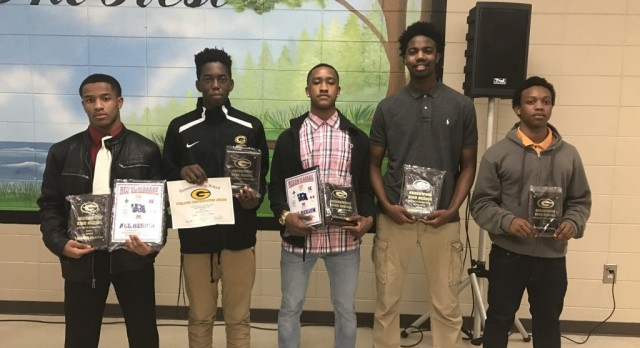 2016-2017 Boys Basketball Award Winners
