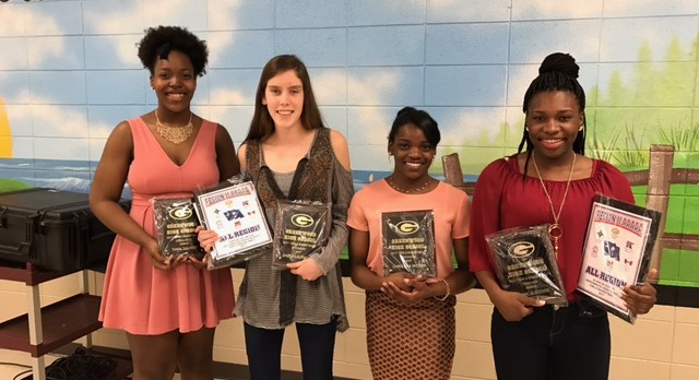 2016-2017 Girls Basketball Award Winners