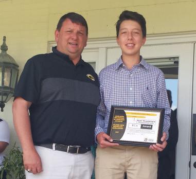 Ryan Champaigne Receives FCA Nick Nicholson Golf Camp Scholarship