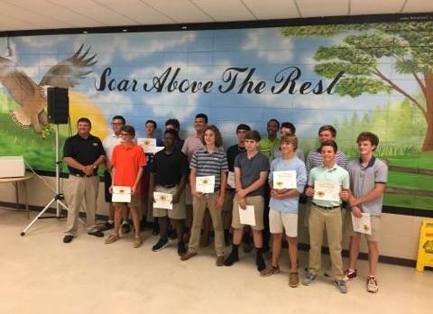 Boys Golf Awards Presented