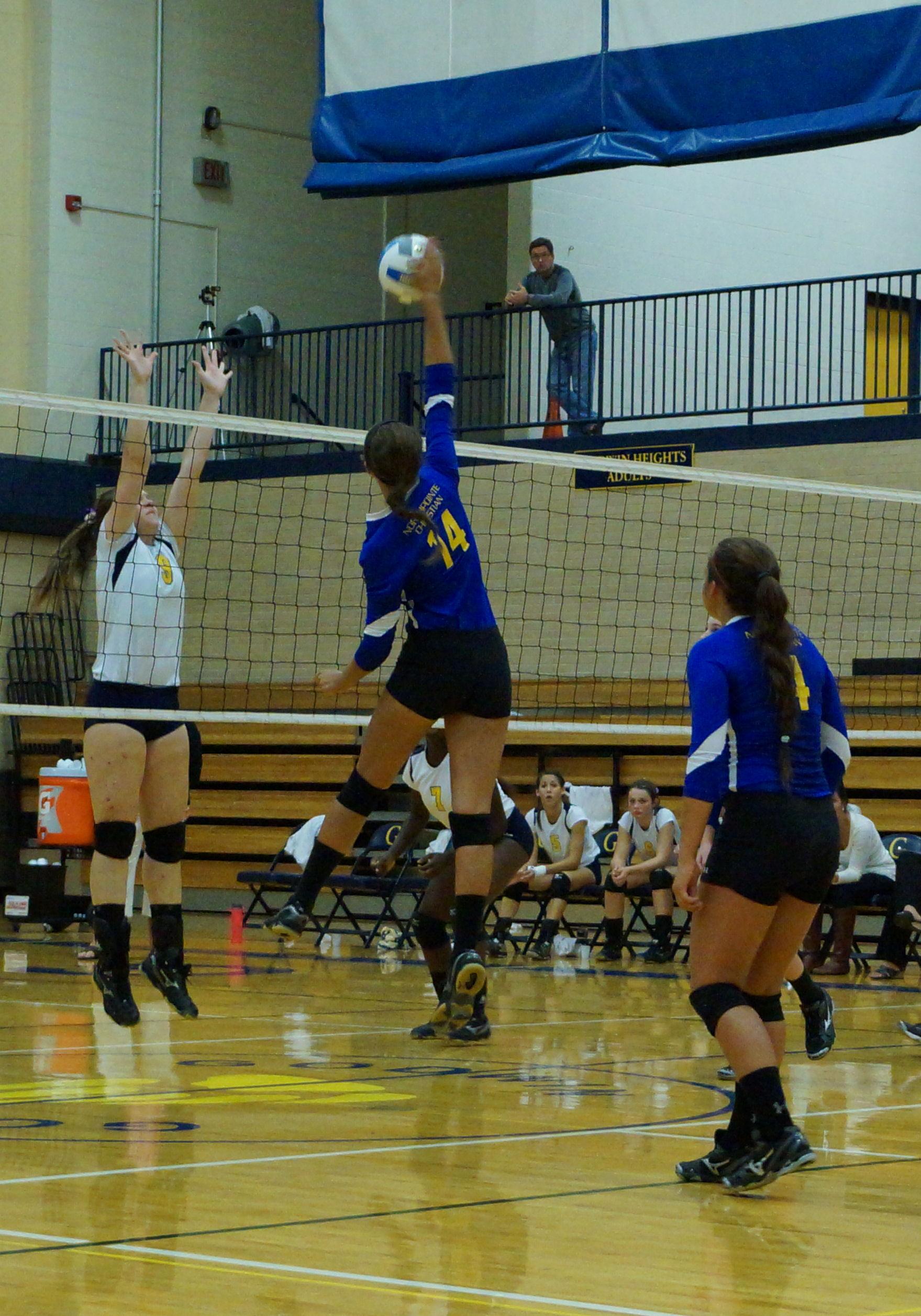 Varsity Volleyball Vs Godwin Pics Sep 19 2013