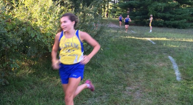 Girls Cross Country finishes 10th at Cougar-Falcon Invitational