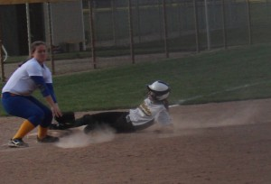 Covering third base with style and grit!