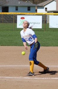 """Evie Culver """"pitching"""" to be her best!"""