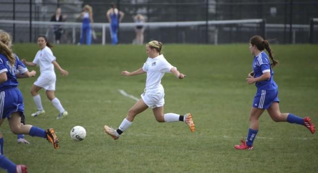 Girls Varsity Soccer ties Wellspring Prep 2-2