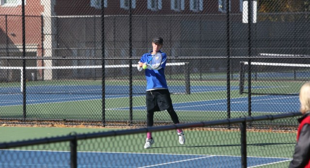 Varsity Tennis falls to West Catholic 3-5