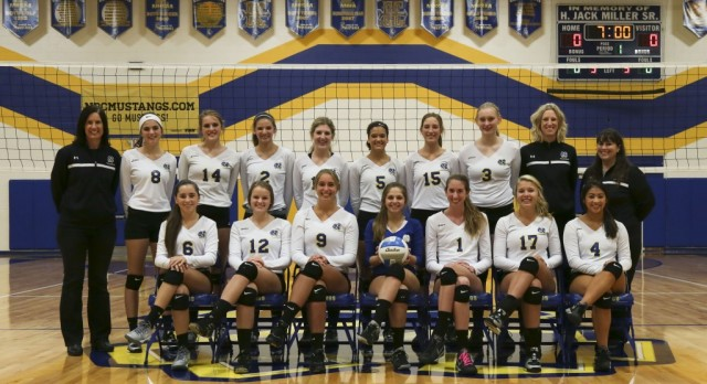 Volleyball Wins District Title Over Calvin Christian 3-0