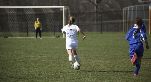 Girls Varsity Soccer falls to Sparta, 1-0