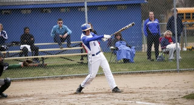 Varsity Baseball beat Coopersville 10-0