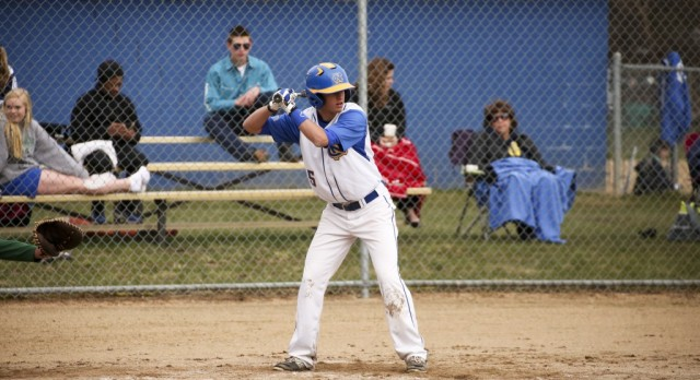 Varsity Baseball beats Western Michigan Christian 5-4