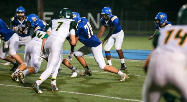 Varsity Football falls to Belding 27-23