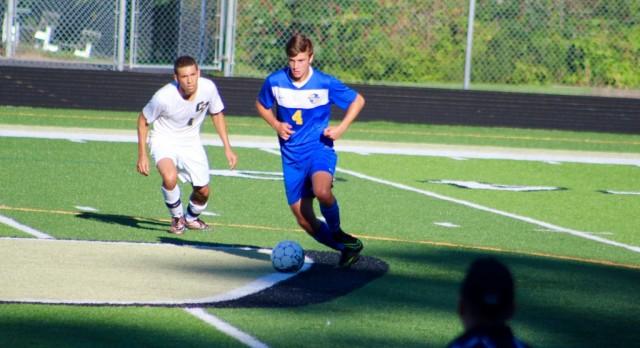Varsity Soccer falls to Calvin 1-0