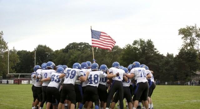 Varsity Football falls to Calvin Christian 36-33