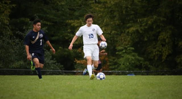 Varsity Soccer beats Kelloggsville 5-0
