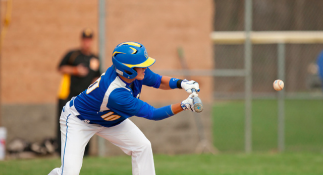 Varsity Baseball beats Holland,  9-8
