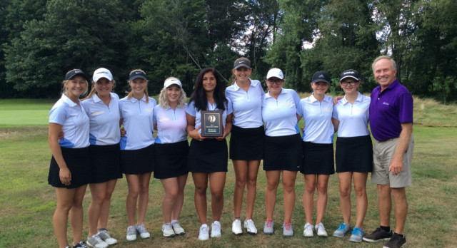 Girls Varsity Golf finishes 2nd at Kent County Classic