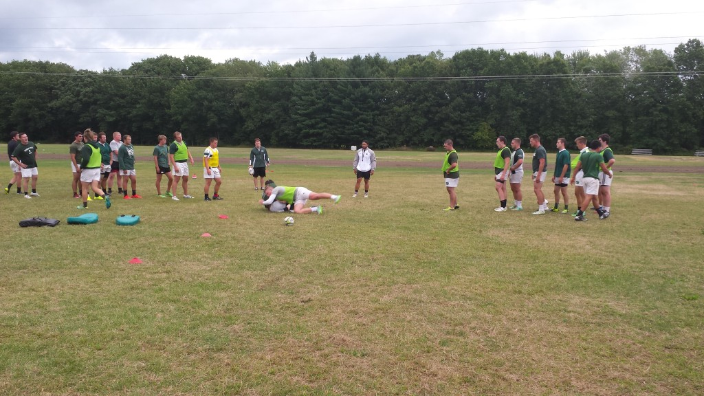 michigan state university rugby club in the chs backyard chesaning