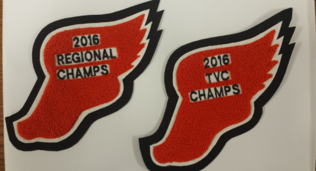 VARSITY BOYS TRACK – Championship Patches are Here!