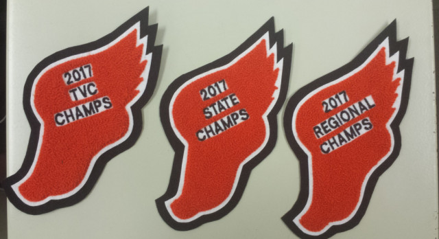TRACK & FIELD CHAMPIONSHIP PATCHES ARE HERE!