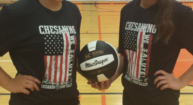 VARSITY VOLLEYBALL MILITARY CLASSIC ACTION TONIGHT!