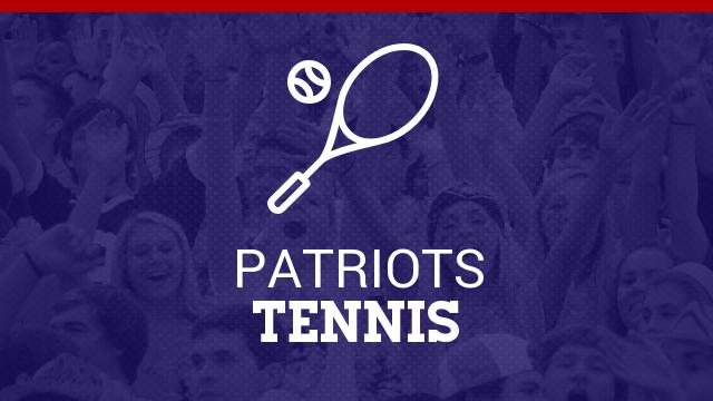Lady Patriots Tennis team off to a hot start.