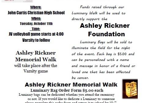Ashley luminary walk