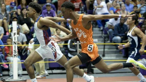 John Curtis freshman Corey Wren on fast starts, big finishes….taken from La.MileSplit.com