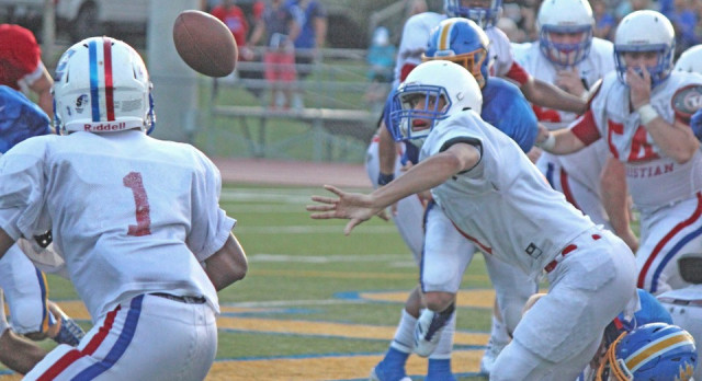 Photos of St. Paul's scrimmage