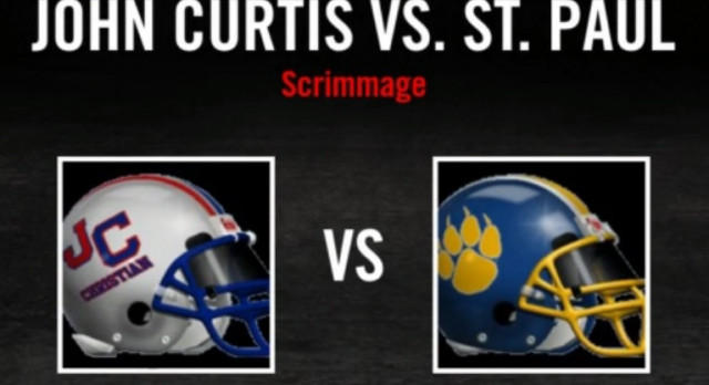 Video highlights from the scrimmage vs. St. Paul's