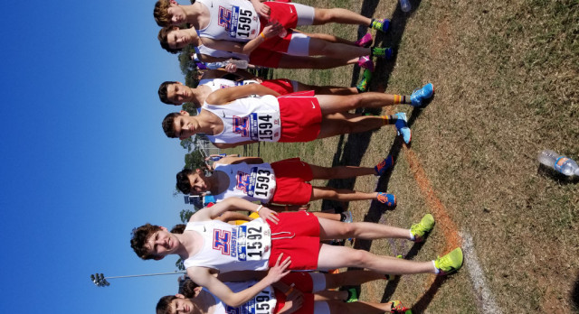 Boys Cross Country team finishes 8th in the 5A State Championships!